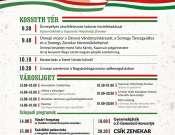 Az állami ünnep programjai Kaposváron