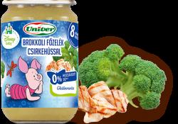 Fontos: Az Univer visszahívja Brokkoli Főzelék Csirkehússal Bébiétel termékét