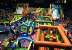 Újra Kaposváron a hatalmas Légvárvilág Játszóház