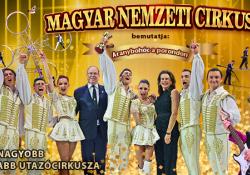 Magyar Nemzeti Cirkusz - Aranybohóc a porondon - Balatonlelle, cirkusztér