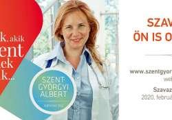 Szavazz a legjobb orvosra, kié legyen a Szent-Györgyi Albert díj!