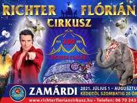 Richter Flórián Cirkusz - A 200 Éves Richter Család - nézd meg az előadást 1.000 Ft kedvezménnyel