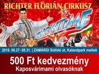 A Richter Flórián Cirkusz - SHOWTIME: Egész nyáron Zamárdiban!