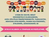 Nyelvi klubbok a Compass Egyesületnél
