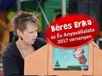 Béres Erika az Év Anyavállalata 2017 versenyén