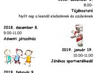 Iskolanyitogató programok a Cs.V.M. Általános Iskola és Gimnáziumban