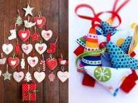 Karácsonyfadísz-készítés - Online kézműves bemutató