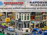 1.500.000 LEGO® kocka Kaposváron első alkalommal!