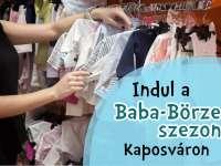Indul a baba-börze szezon Kaposváron és környékén