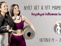 Nyílt hét a Fitt Mamiban - jelentkezz az ingyenes nyílt órákra és vegyél részt egy fergeteges HALLOWEEN bulin!