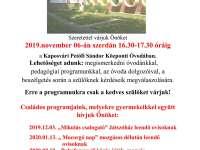 Petőfi Sándor Központi Óvoda nyílt napjai