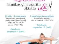 Kaposvári Egyetem LSC RG szakosztálya - Ritmikus gimnasztika oktatás