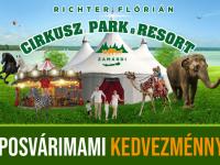 Cirkusz Park & Resort - családi élménypark Zamárdiban, Kaposvárimami kedvezménnyel