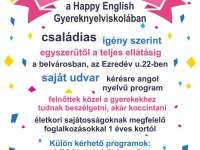 Gyerekszülinap a Happy English Nyelviskolában