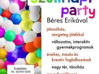 Szülinapi party Béres Erikával