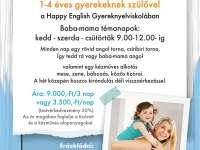 Happy English Baba-mama minitábor