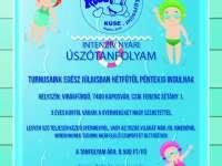Intenzív nyári úszótanfolyam és Nyári úszó- és uszonyos úszó sportnapközi