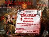 Véradás a Halloween jegyében